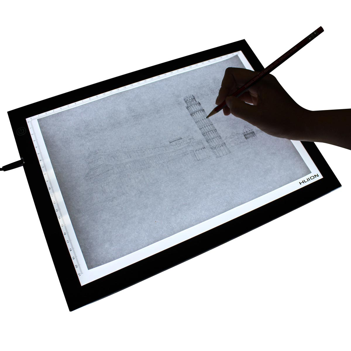 1200x1200 huion electronic touch switch led tatoo tracing board box,led