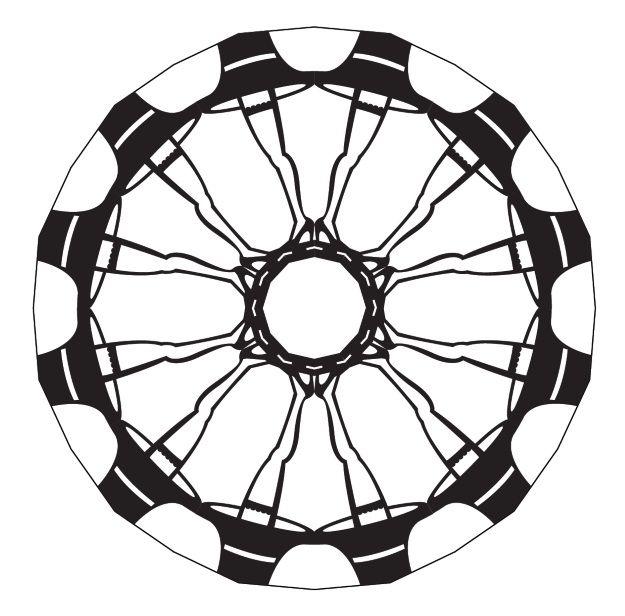 625x616 Pop Culture Snowflakes