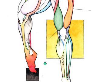 340x270 Female Muscle Legs Etsy