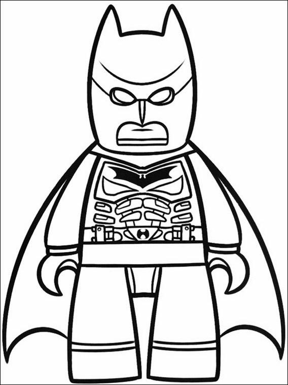 568x758 Lego Batman Drawing