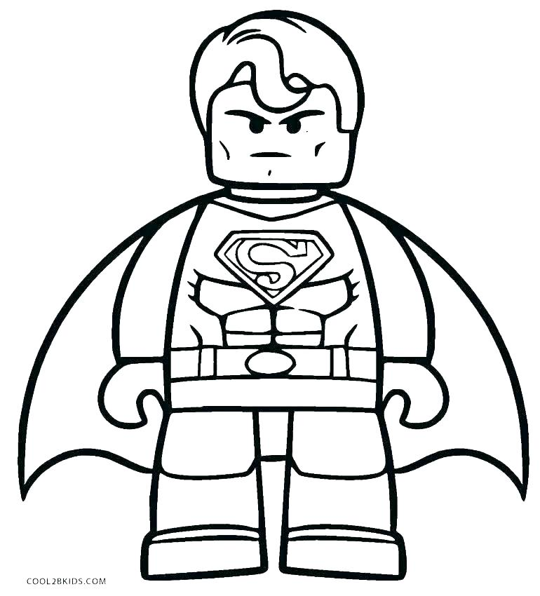 770x850 Lego Batman Penguin Coloring Pages Superman Coloring Pages Luxury