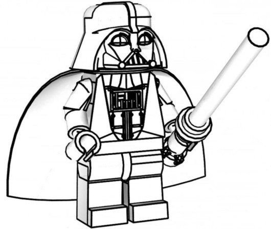 Lego Darth Vader Drawing | Free download on ClipArtMag