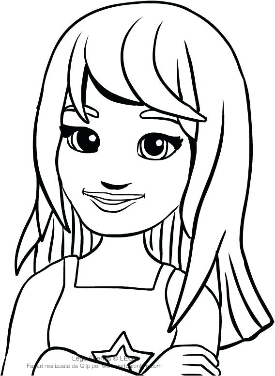568x776 Friends Coloring Pages Stephanie Lego Best Klubfogyas