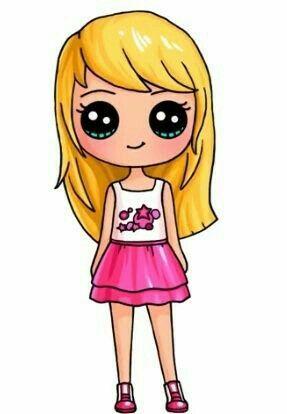 287x414 Lego Friends Emma Cute Drawings! Kawaii Girl Drawings, Cute