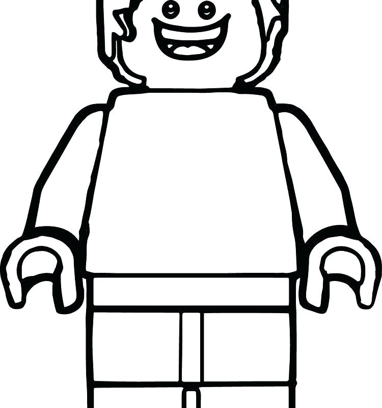 750x800 Free Lego Coloring Pages