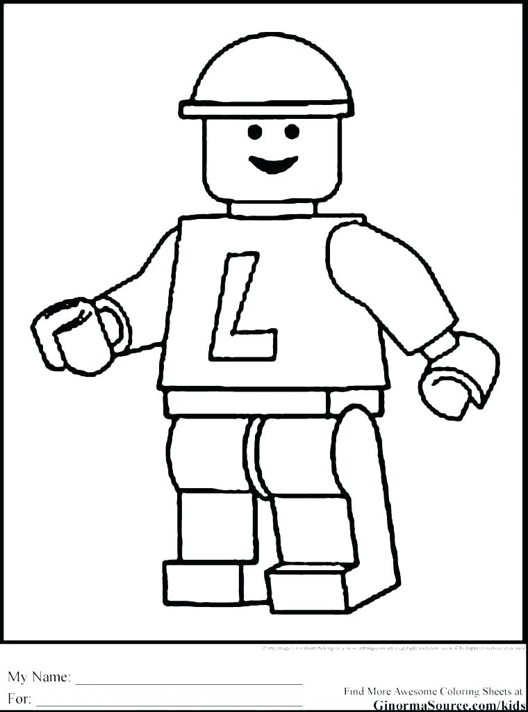 760x1024 Lego Coloring Games