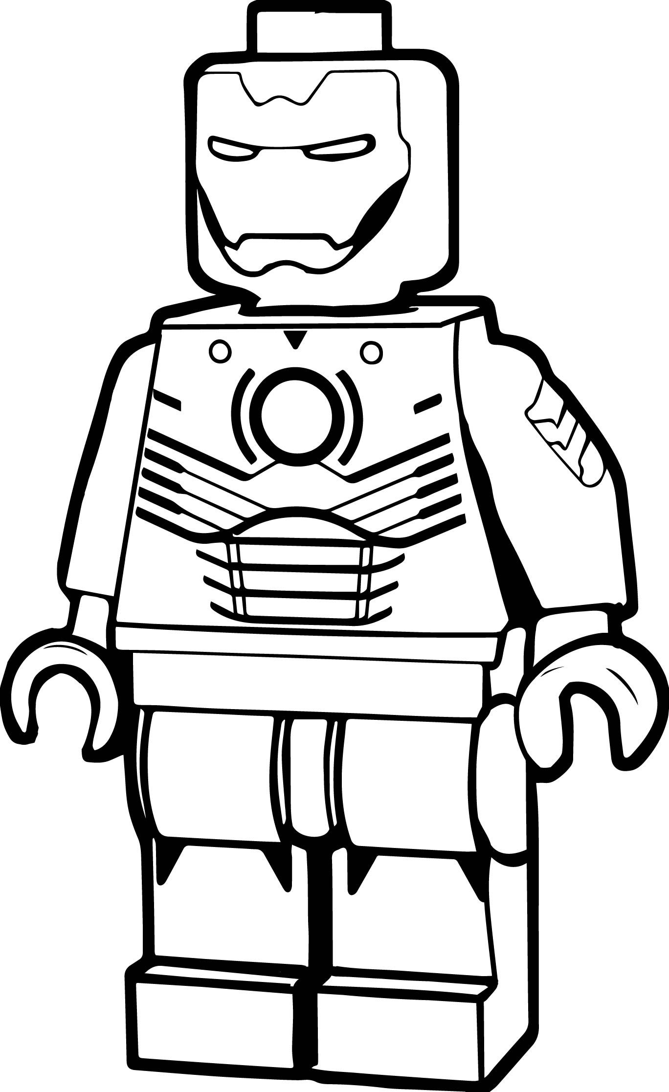 Lego Iron Man Drawing | Free download on ClipArtMag