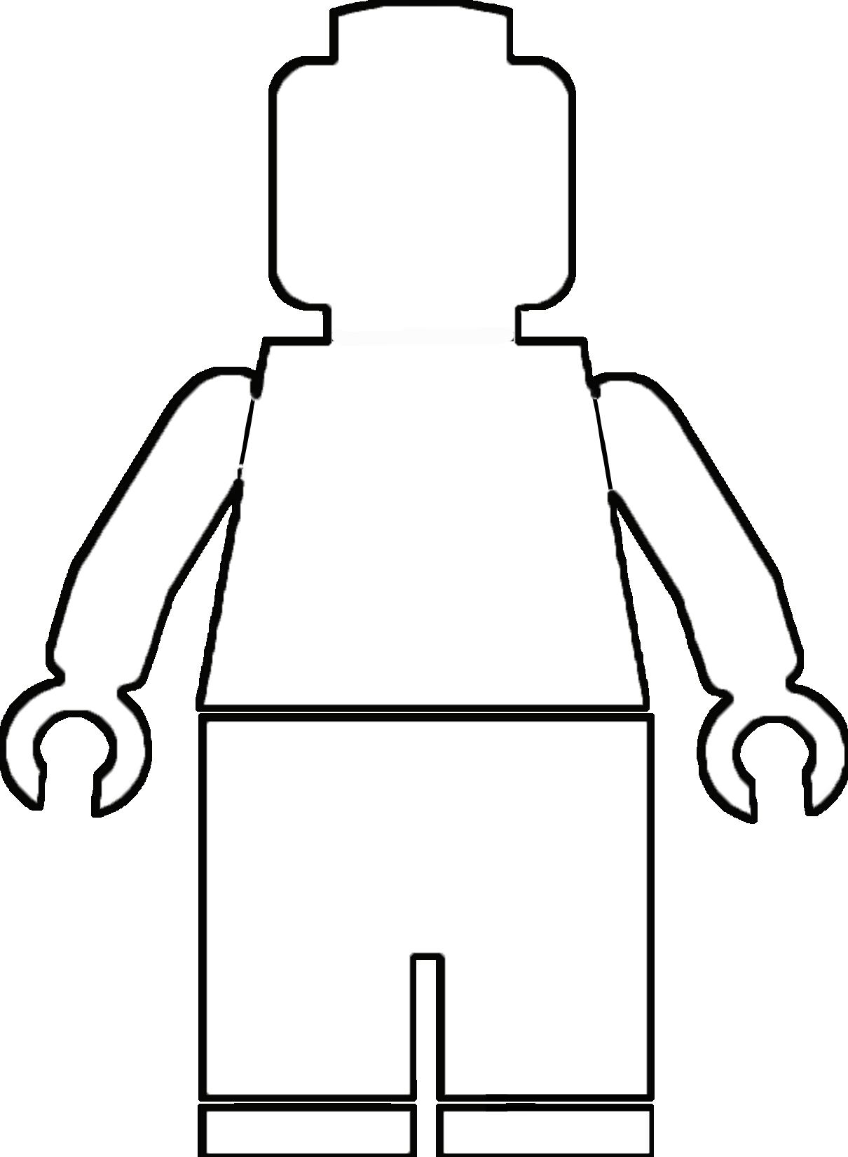 Lego Man Drawing