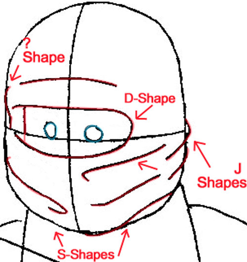 500x531 How To Draw Cole From Lego Ninjago With Easy Step