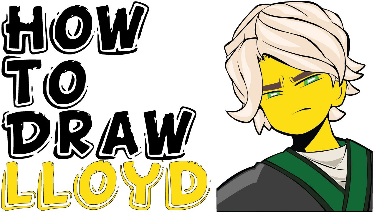 1280x720 How To Draw Lloyd For Kids From The Lego Ninjago Movie