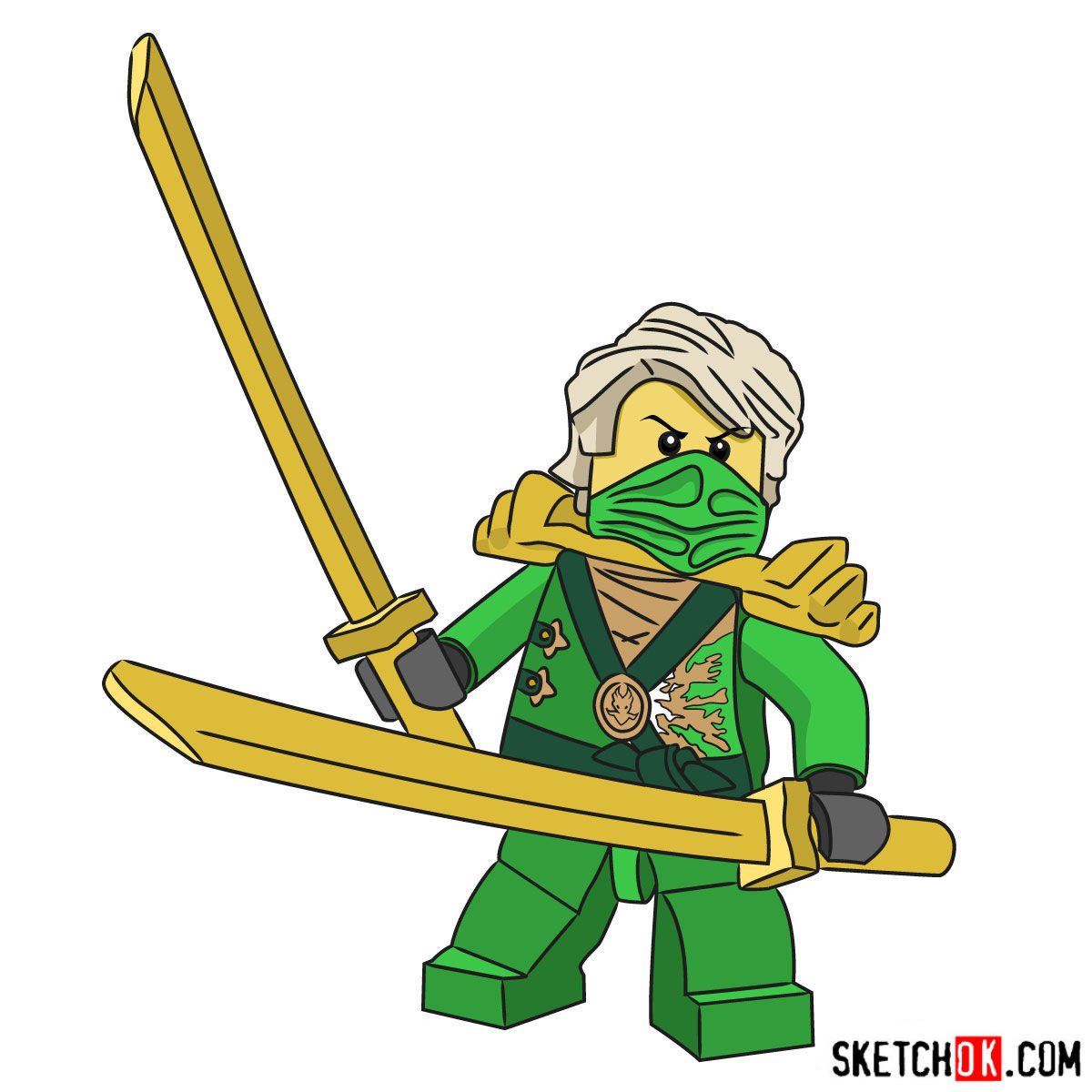 1200x1200 How To Draw Lloyd Garmadon Inspirational Lego Ninjago Step
