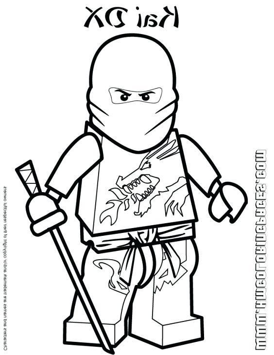 564x730 Kai Ninjago Coloring Pages Free Coloring Pages Lego Ninjago Movie