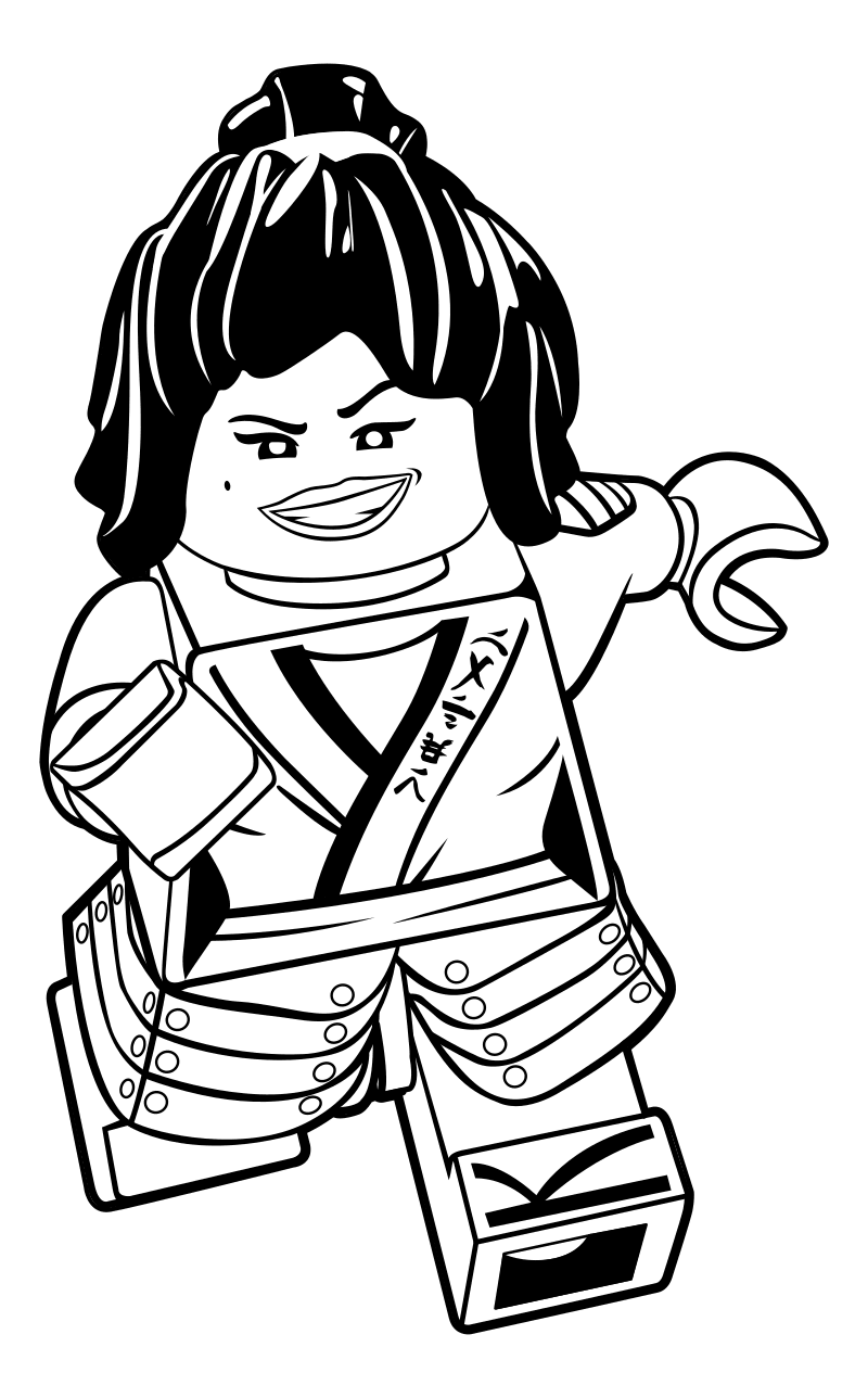 800x1288 Lego Ninjago Snake Coloring Pages Printable Template Free To Print