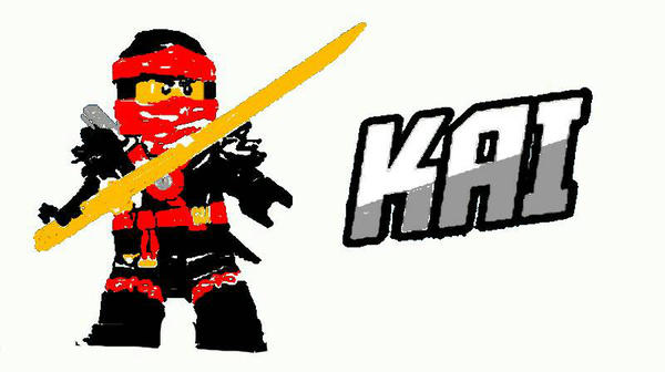600x336 Lego Ninjago Drawing Kai