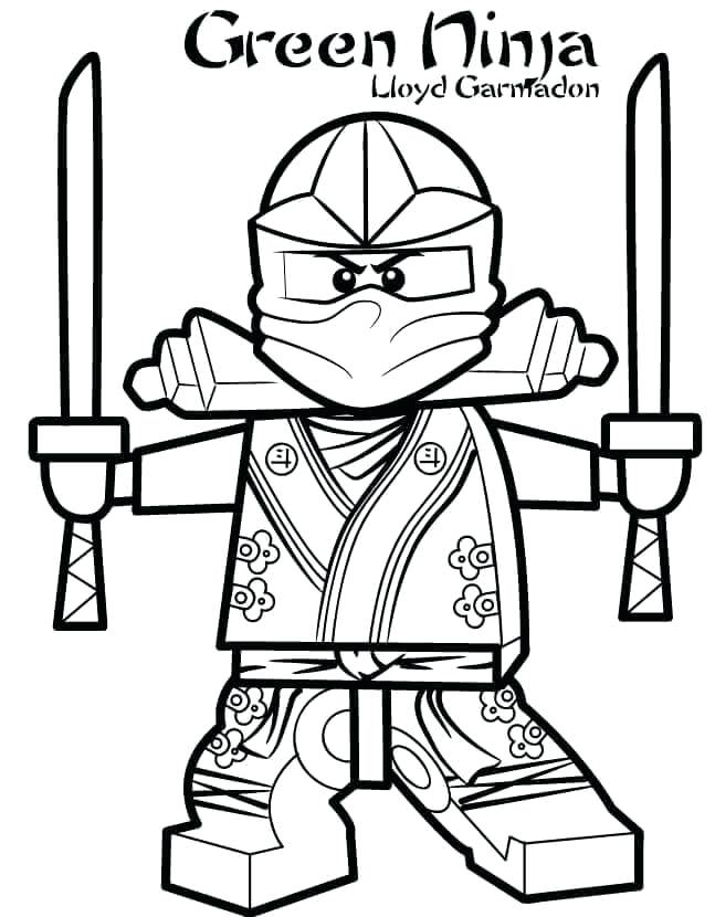 647x830 Ninjas Coloring Pages Green Ninja Coloring