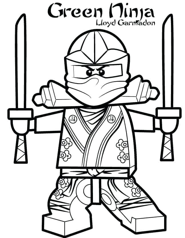 647x830 Ninjas Coloring Pages Green Ninja Coloring
