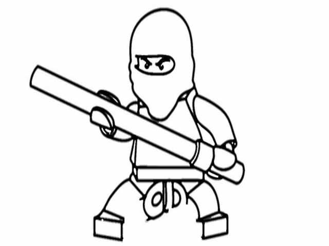 640x480 Coloriage De Ninjago Lloyd Unique How To Draw Kai Ninjago
