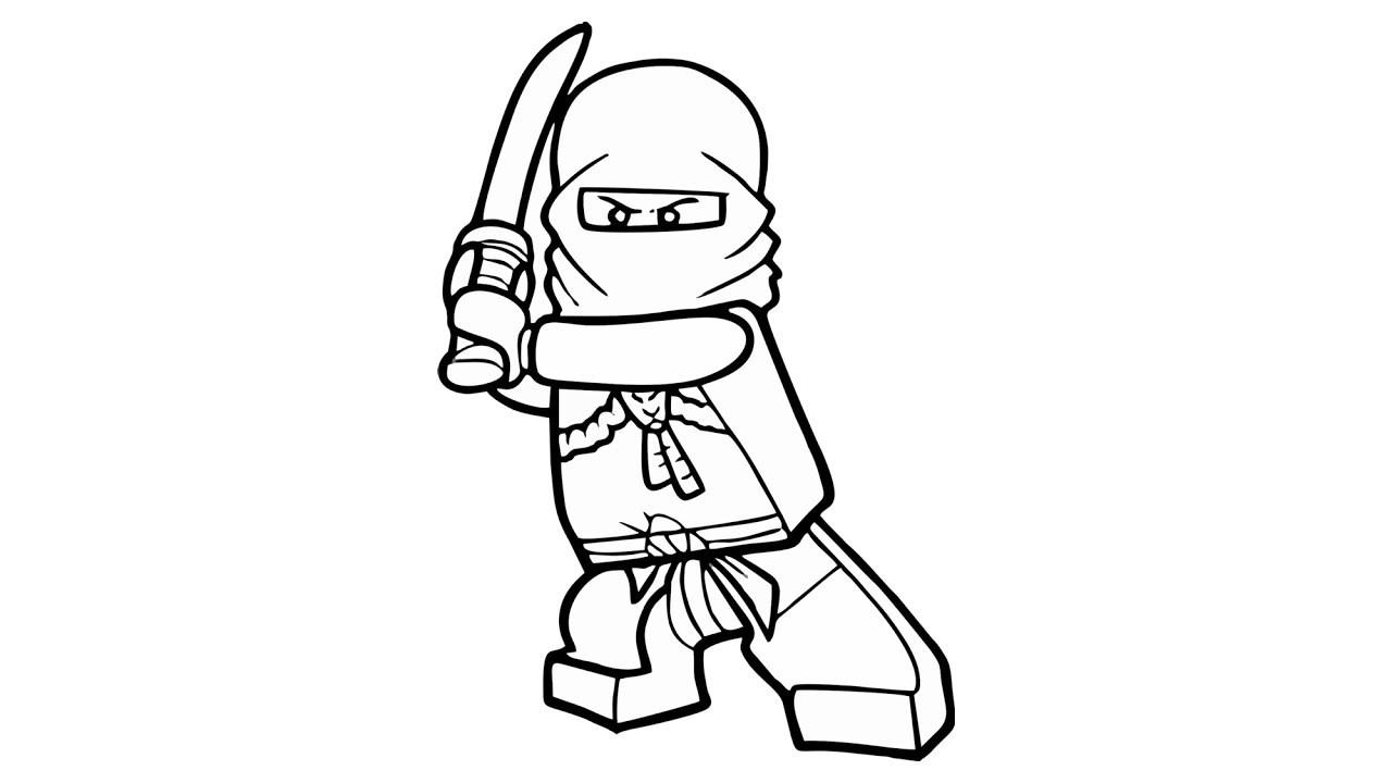 1280x720 How To Draw Lego Ninjago Kai Jegger