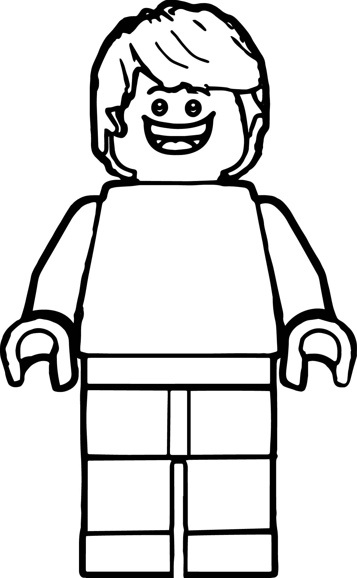 Lego People Drawing
