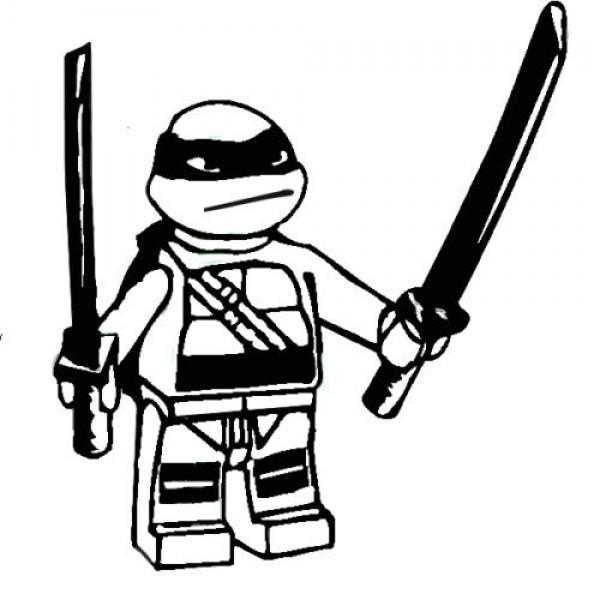 Leonardo Ninja Turtle Drawing