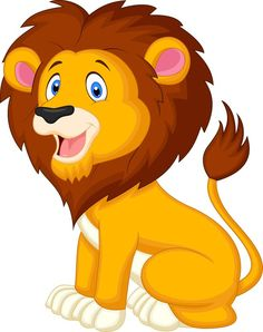 236x298 Best Cartoon Lion Images Animal Drawings, Drawings, Sketches