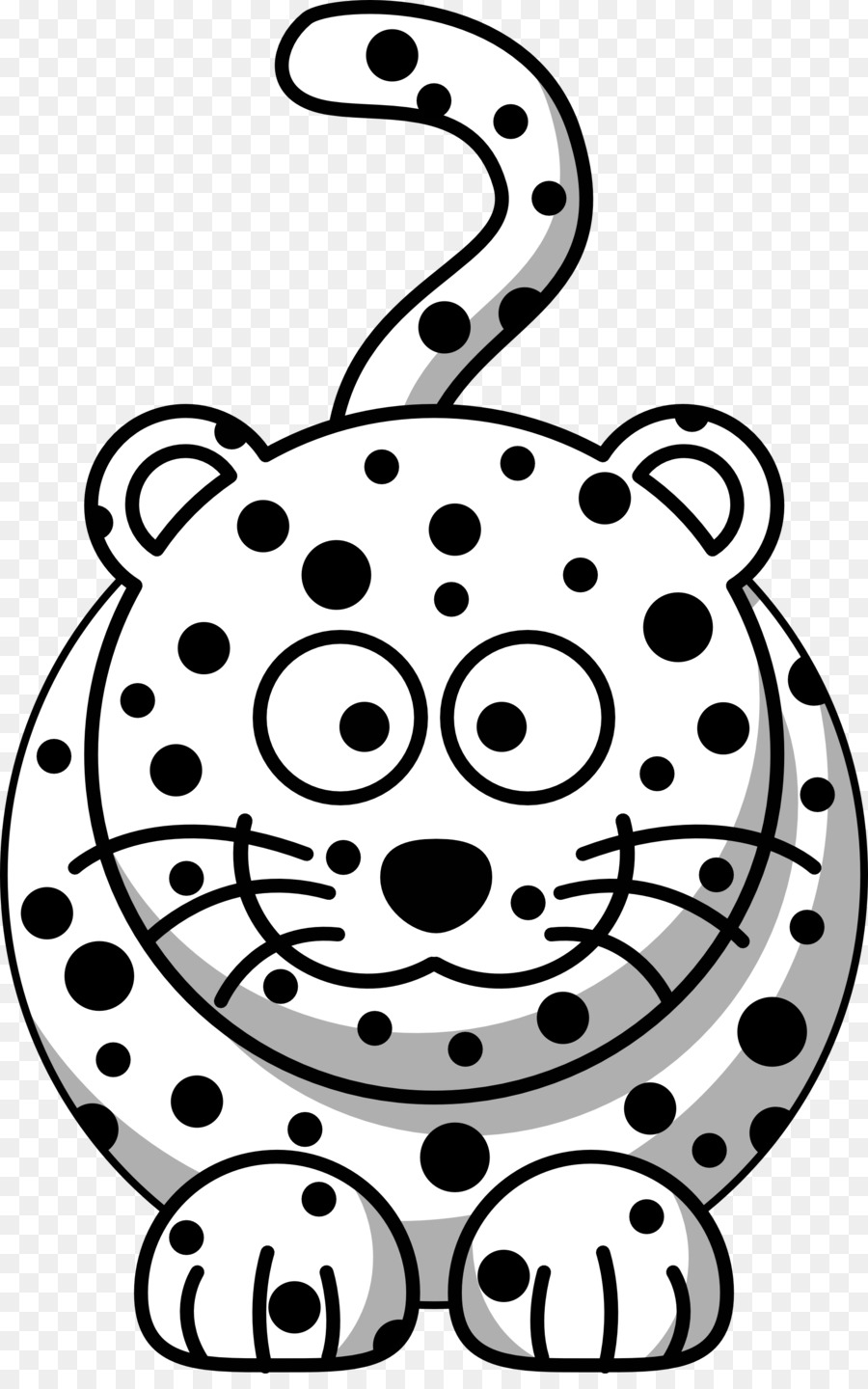 900x1440 Tiger, Drawing, Cartoon, Transparent Png Image Clipart Free Download