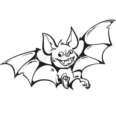 400x400 Vampire Bat Drawing Vampire Bat Illustration