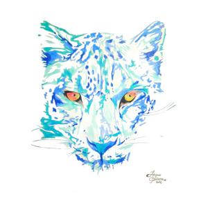 300x300 Leopard Drawing