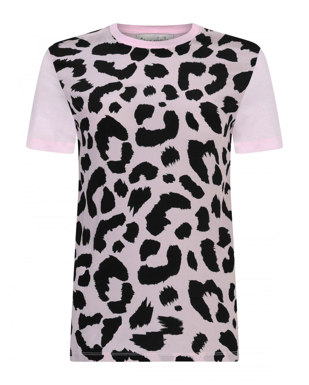 1200x1498 Leopard Panel T Shirt