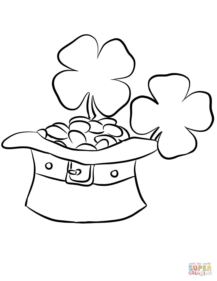 Leprechaun Drawing