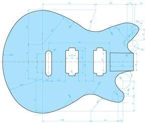 290x245 guitar in guitar diy, guitar drawing