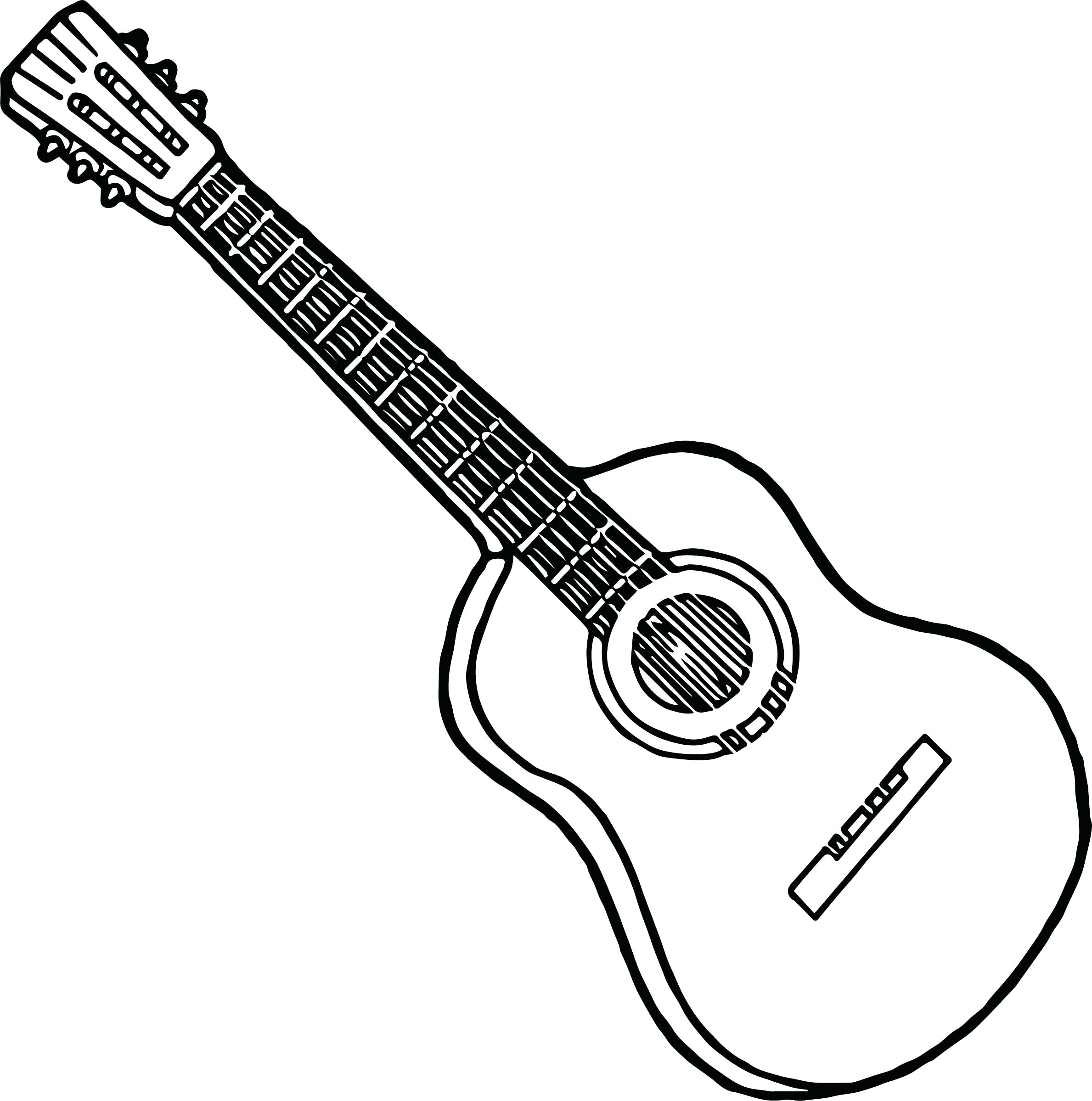 Les Paul Guitar Drawing