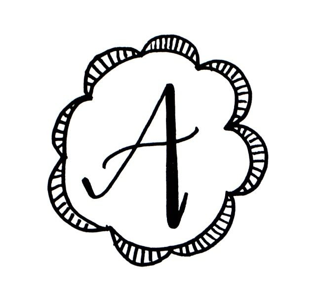 650x588 basic hand lettering drawing a monogram hand lettering hand