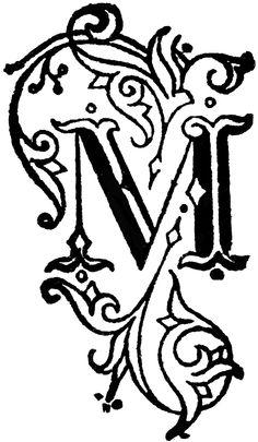 236x405 best m images fancy letter m, monogram, designer fonts