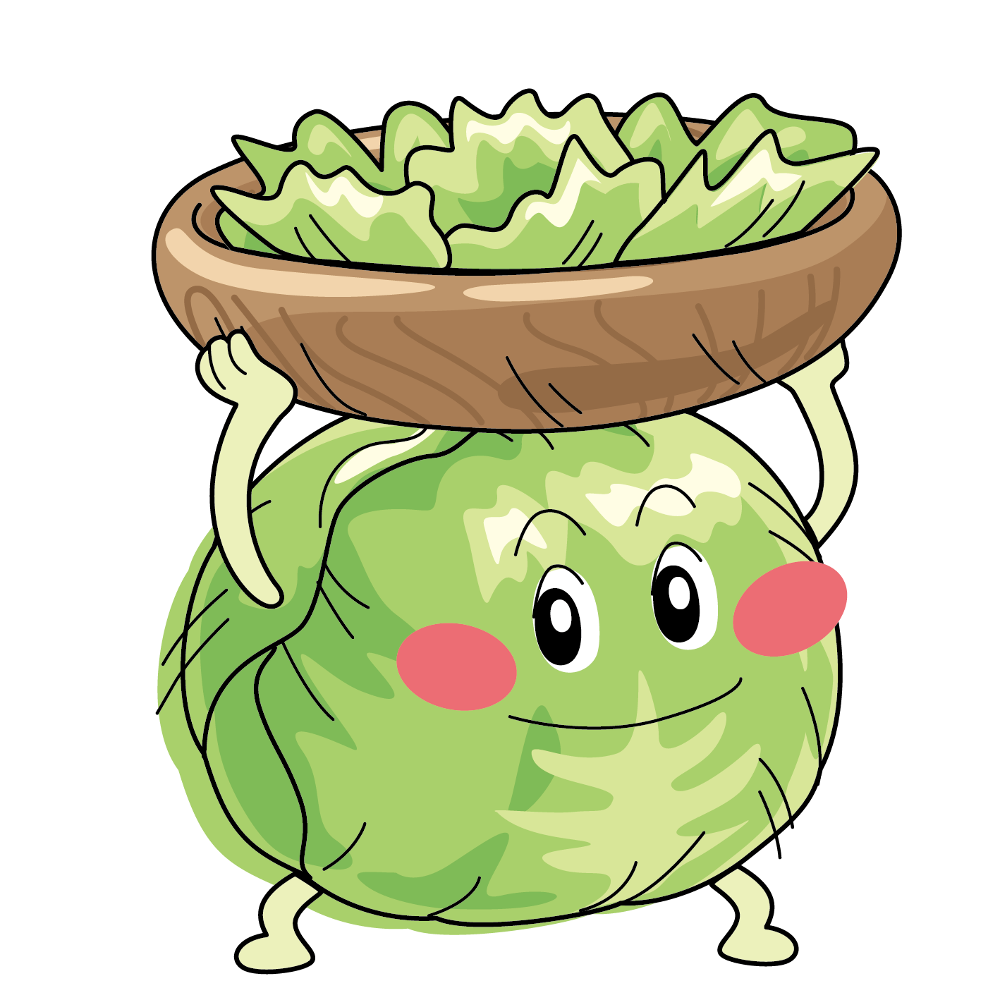 1418x1418 Collection Of Free Lettuce Drawing Iceberg Download On Ui Ex