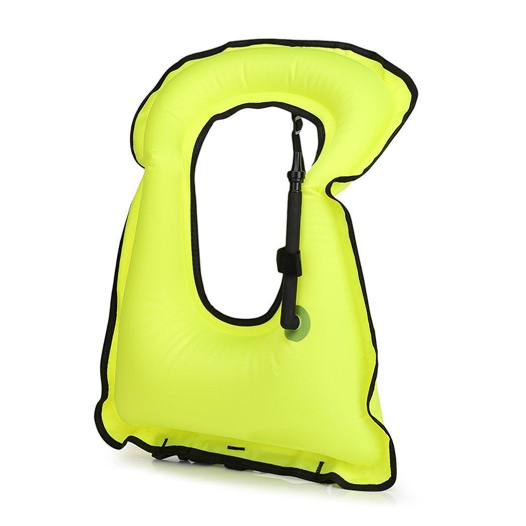 1050x1050 fansport men's snorkel vest life vest jacket adjustable belt