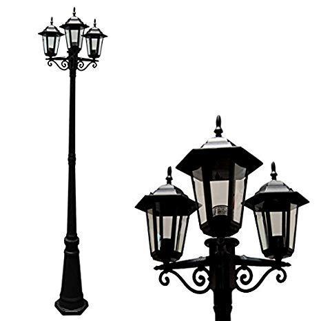 466x466 etoplighting aluminum outdoor post pillar outdoor light
