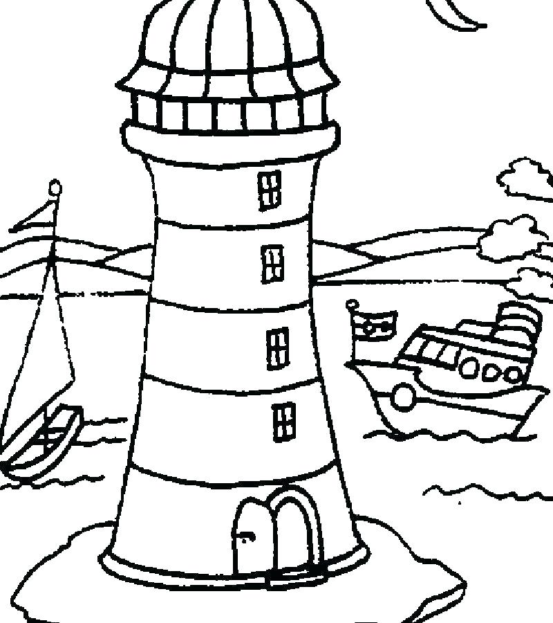 800x900 free printable lighthouse coloring pages lighthouse coloring