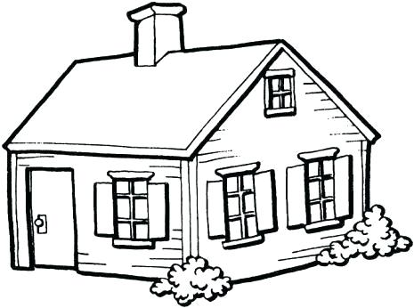 465x346 house drawing pics house in the trees house drawing simple house