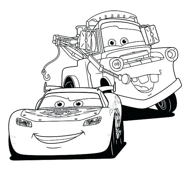 Lighting Mcqueen Drawing