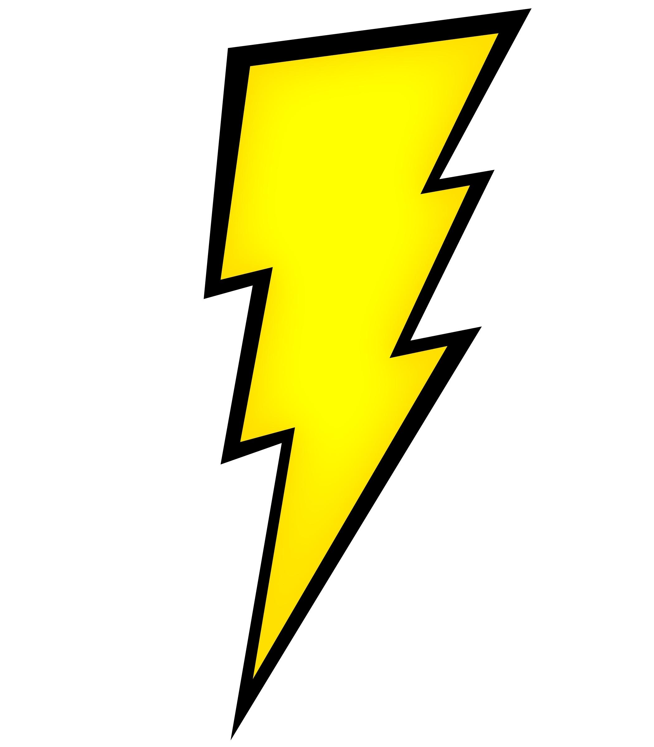 2100x2400 Lightning Bolt Drawing
