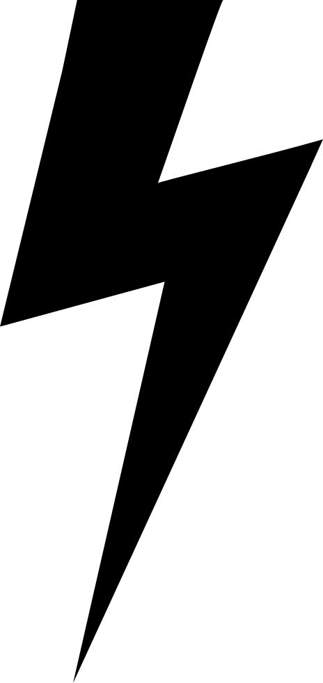 464x980 Lightning Bolt Black And White Stock Black And White Huge