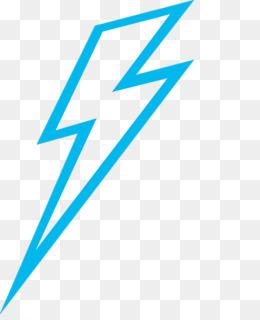 260x320 Blue Lightning Bolt Png