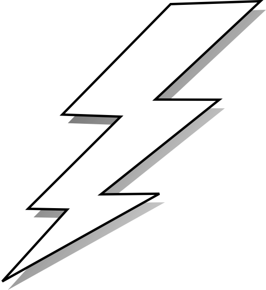 546x595 Collection Of Free Drawing Logo Lightning Bolt Download On Ui Ex