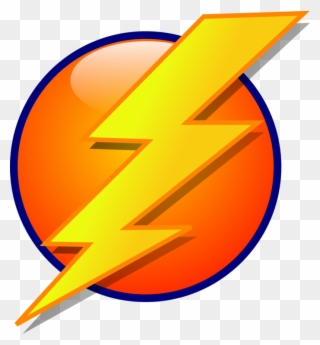 320x345 Drawn Lightning Electric Bolt
