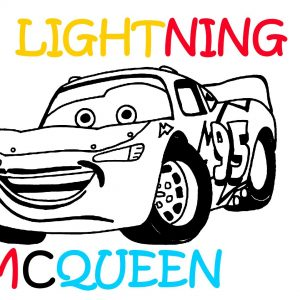 lightning mcqueen line drawing   free download on clipartmag