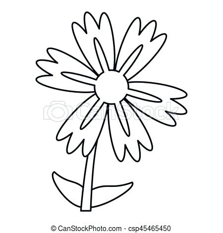 450x470 Bouquet Of Lily Flowers Stock Vector Flower Outline Drawing Tattoo