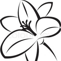 200x200 Lily Pad Clipart Flower Drawing