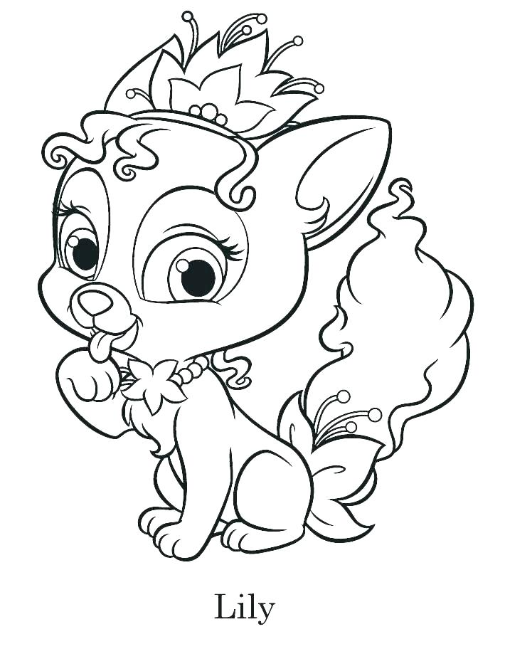 710x912 Lily Pad Coloring Pages