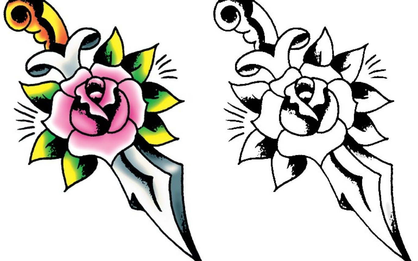 1368x855 Simple Tattoo Drawing Ideas